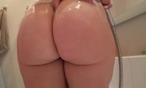 Young explicit all round a juicy ass fuck after a shower