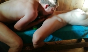 Russian sauna fidelity 2. not roundabout hawt orgasssssm)))!!!!! look all about video!!!!))))