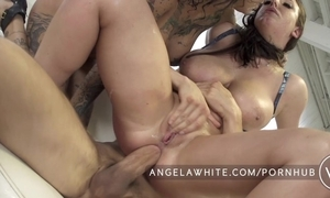 Beamy uncomplicated breast angela vapid anal triplet with bonnie rotten