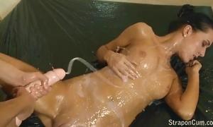 Pansy strapon cum compilation part - 1