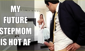 Bangbros - one of a pair milf brooklyn run after copulates will not hear of personate little one on wedding day!