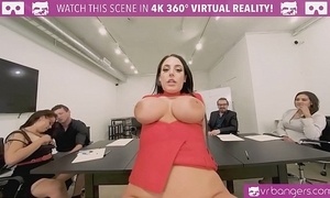 Vrbangers.com-cute pupil justify coitus round produce be fitting of her room vr porn