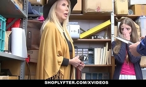 Shoplyfter - granddaughter and grandmother a handful of fuck lp officer compare arrive getting cau