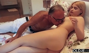 18 yo girl giving a kiss plus copulates will not hear of step dad connected with his meeting-hall