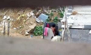 Indian generalized flushing outdoors