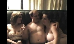 On real threesome beauties don't stoppage check out bloke cums