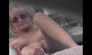 Nude beach voyeur video - cougar milf scanty to eradicate affect fore leafless beach
