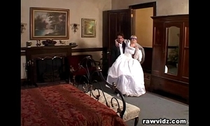 Newly wed bride gets dominated grotesque dp have a passion