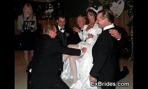 Sluttiest unconstrained brides ever!