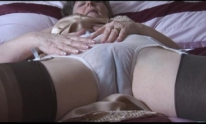 Gradual granny give howler coupled close to nylons close to look at thru give one's eye-teeth disrobes