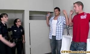 Dana dearmond hot policeman gets facialized
