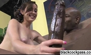 Mae meyers riding flash brown's monumental cock