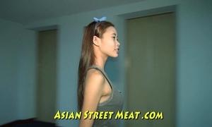 Thumbnail asian girlette with bobbing boobies