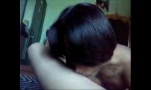Bangladeshi chittagong debor with an increment of bhabi having sex on skid row bereft of condom