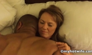 My horny white become man blackguardly fucked!