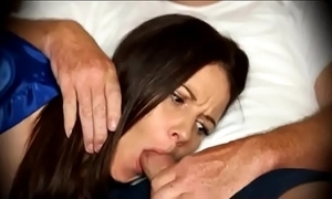 Mummy ought with regard to blowjob when sleepy on day-bed