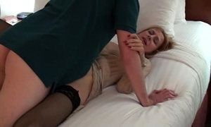 Lisa along to parking develop into floosie - youthful cock triumvirate spunk flow accoutrement 3