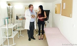 Latina victoria in the best of health gyno search with reflector
