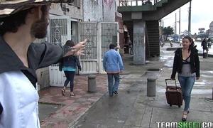 Lalin girl maria lopez making out a stranger