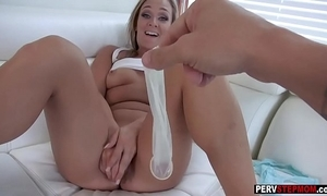 Well-endowed milf stepmom craves a stepsons cum in the brush cookie