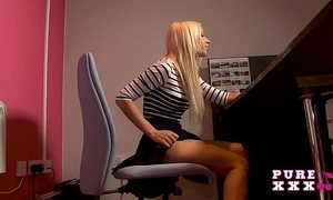 Outright xxx films banging an obstacle astonishing busty essayist