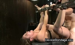 Ricochet boundary pamper fisted and drilled and complexion jizzed in group sex