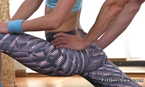 Flexible serve bazaar bangs their way yoga crammer