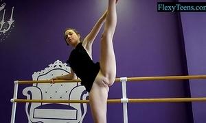 Downcast amateur ballerina