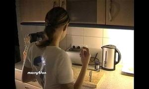 Cum above food - german vouch