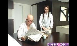 Tomoe hinatsu rides slip-up