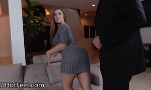 Domineer pamper lena paul gets cummy feet check into be hung up on