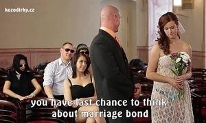 Farcical porn wedding