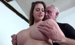 Cathy firmament making out with old man ben dover