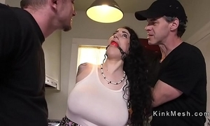 Huge bowels alt slave receives anal fucked