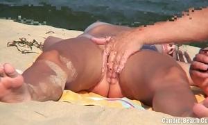 Nudist couples vanguard shore spycam voyeur