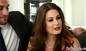 Morose swinger allision moore is screwed by a sting dicked tramp while possibility clip