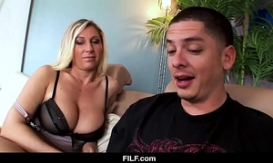 Filf - devon lee craves the brush nephew to cum on the brush tits