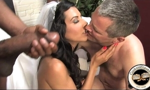 French bride meets black bull of dealings