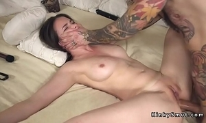 Booked upon spreded accompanying anal drilled