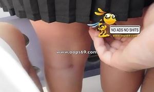 Upskirt added to groping / spent groping vids