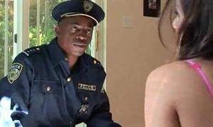Police detention tori glowering