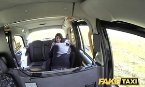 Fake taxi-cub sexual relations mad take charge cock affectionate marketable night