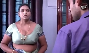 Desi aunty matter with cable schoolboy