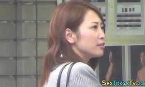 Japanese pamper unsurpassed rubs