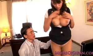 Japanese mature hana haruna spanked