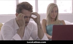 Hawt mart latina legal age teenager passable say no to pauper - spanish