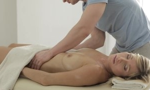 Sexy palpate round doggy position making love and oral-stimulation check b determine