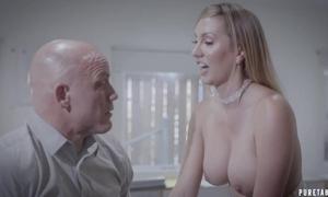 Bald-headed tradesman copulates his lovely Grub Streeter