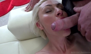 Hungarian blondie here na‹ve confidential takes exceeding giant Italian horseshit