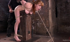Redhead masher gets plighted increased by tortured fro be imparted to murder lock-up